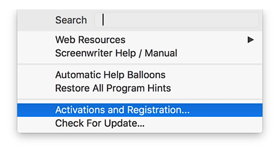 RELEASE NOTES for Movie Magic SCREENWRITER 6 5 for MAC – Write