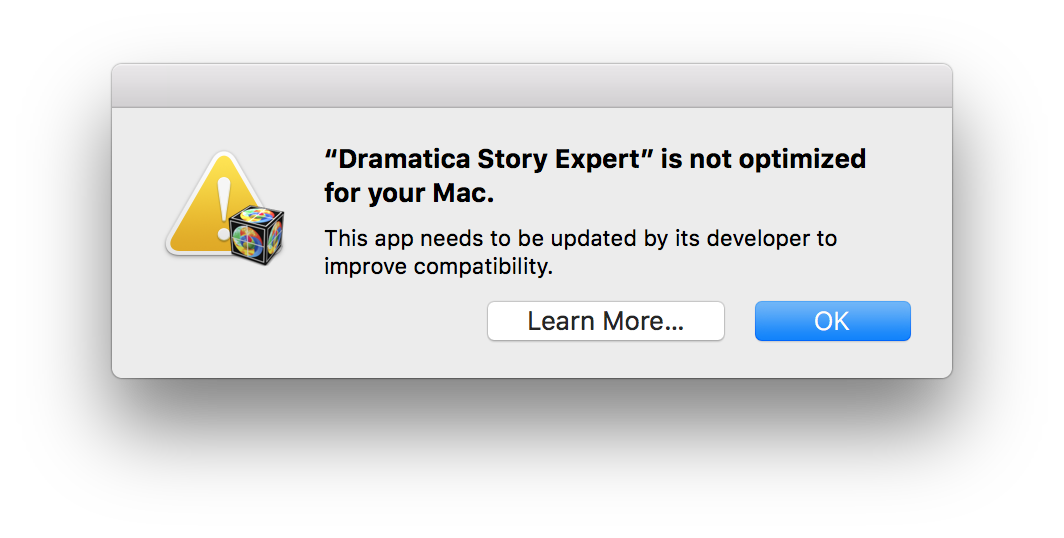 Dramatica_Story_Expert_is_not_optimized_for_your_Mac.png